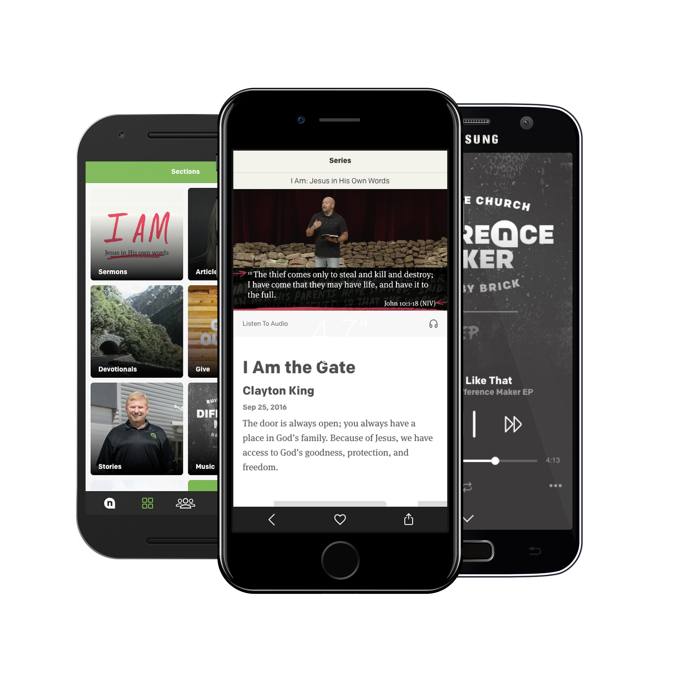 Download the NewSpring App